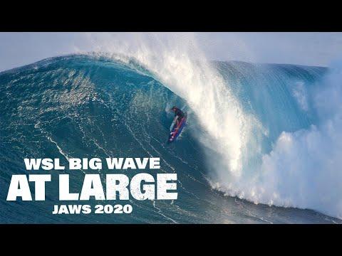 WSL Big Wave At Large: JAWS 2020 | MASSIVE BARRELS, INSANE WIPEOUTS!!