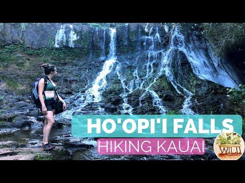 Hiking Kauai | Ho'opi'i Falls | featured in Jurassic Park!