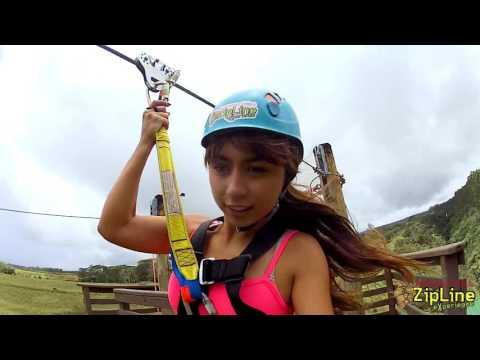 The Umauma Falls ZipLine Experience 2016