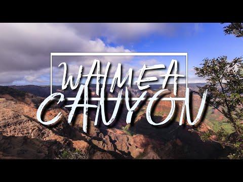 Waimea Canyon - Grand Canyon of the Pacific - Kauai, Hawaii | 4K drone footage
