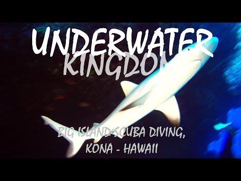 Hawaii Scuba Diving - Kona, Big Island GoPro 4K