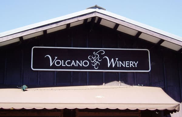 winery volcano village