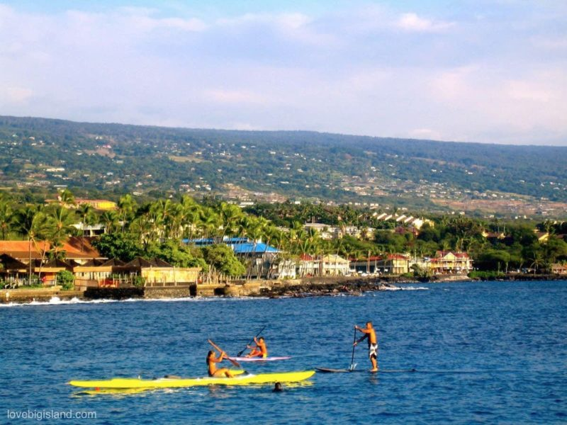 There are many ways to get wet and active in Kailua Kona