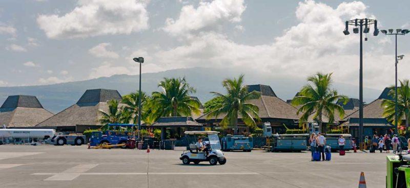 KOA Kona airport hawaii