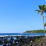 Isaac Hale beach park on the Big Island