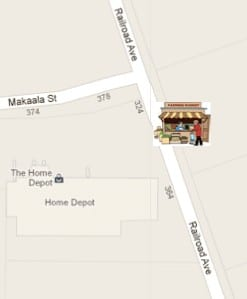 Panaewa Hawaiian Home Lands Farmers Market directions