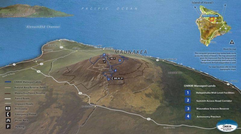 mauna kea, stargazing, directions