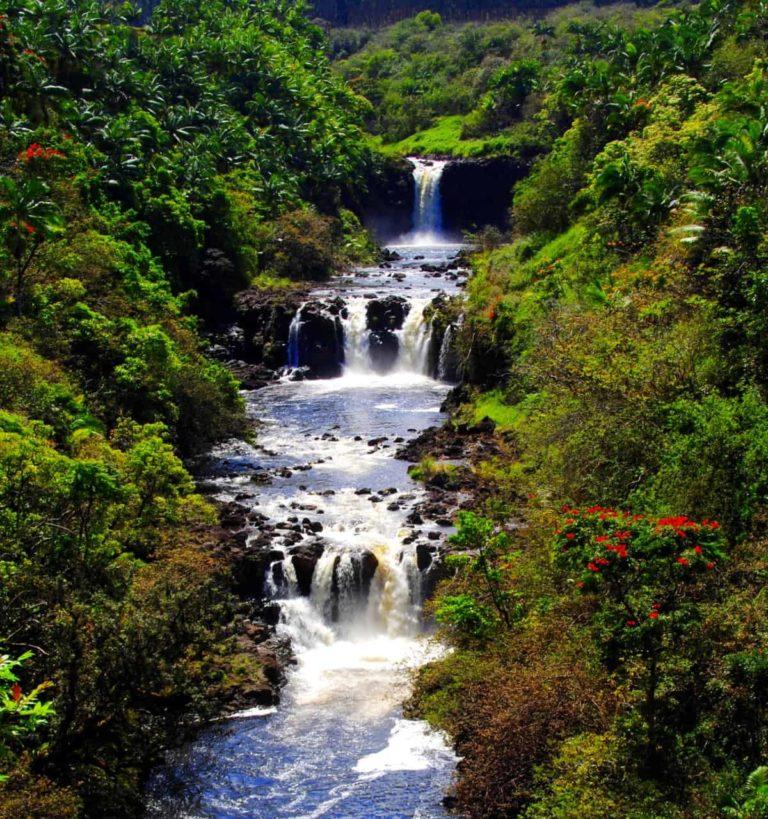 Hawaii Big Island Waterfall Tour
