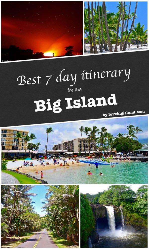 hawaii, big island, itinerary, travel planning
