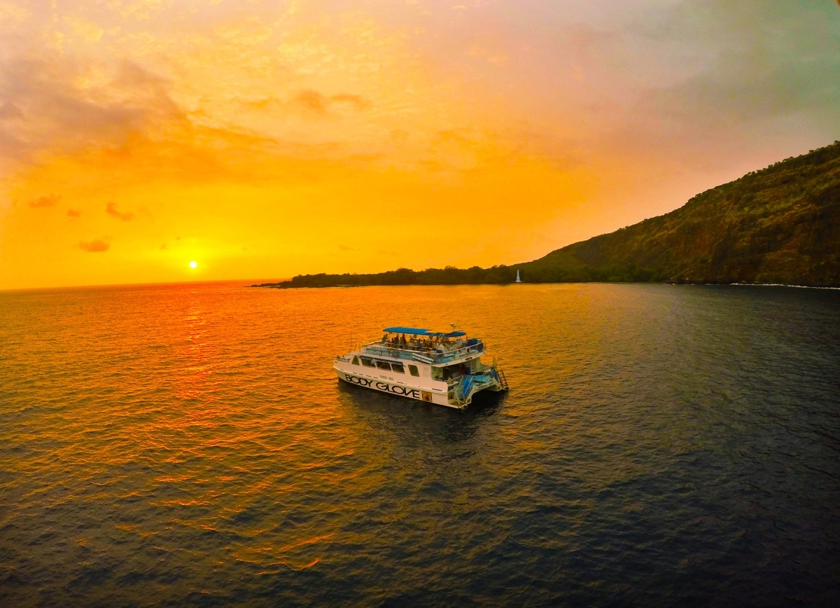 Captain Cook Dinner Cruise to Kealakekua Bay