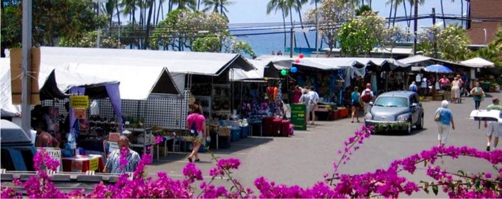 Kona village Farmers Market