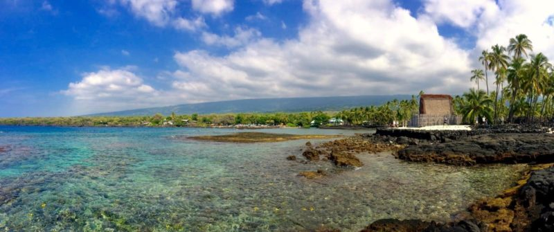 Pu'uhonua o Honaunau, two step, snorkeling