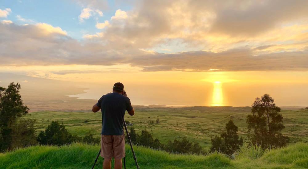 Photo Tour: Hawaiian Sunset and Astrophotography