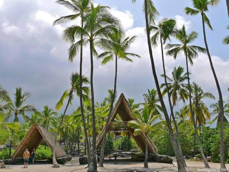 Halau canoe shelter