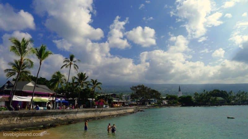 Ali'i drive, Kailua Kona, Gig Island, Kona Hawaii