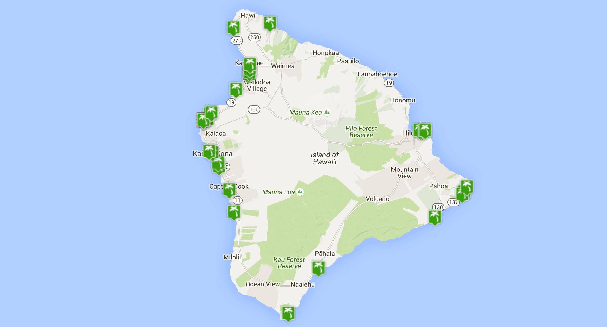 Map Of Islands Around Hawaii