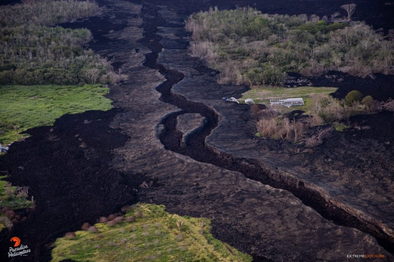 dry lava river in Puna (Big Island of Hawaii)