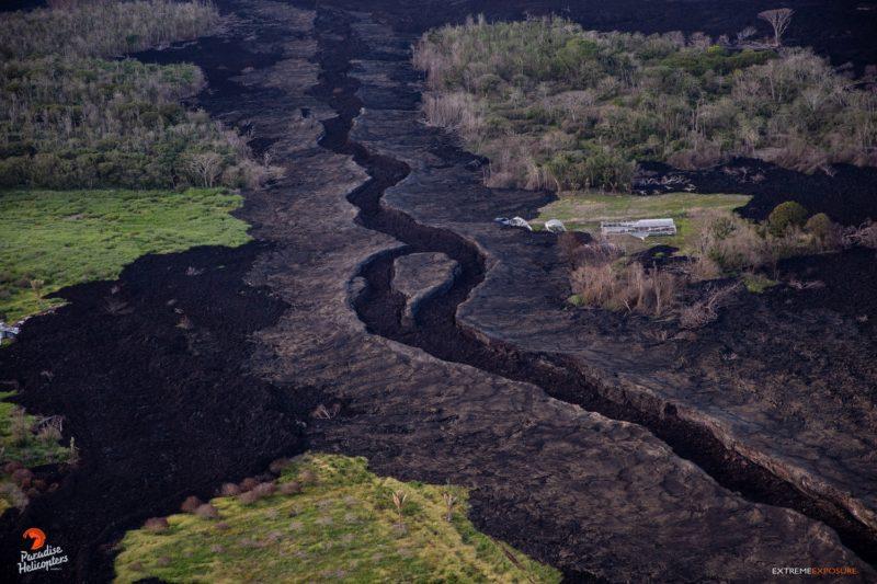 dry lava river in Puna (Big Island of Hawaii)