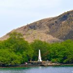 Captain Cook monument on the Big Island