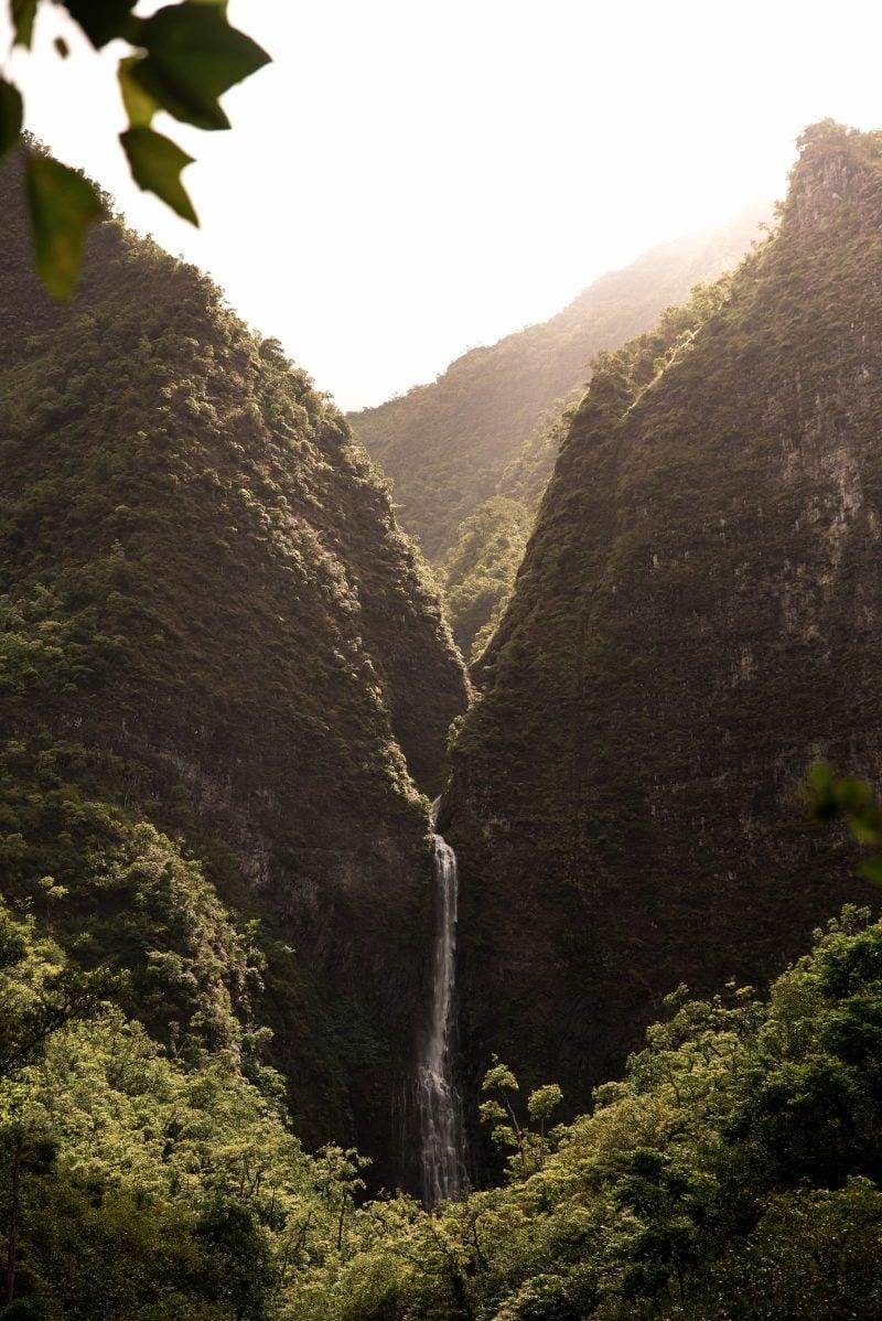 The Hanakāpī'ai Falls on Kauaʻi