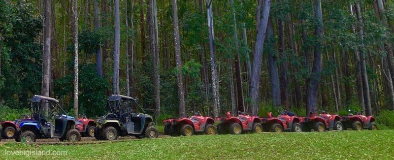 ATV tour, big island, hawaii
