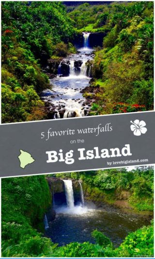 waterfalls, big island, list, hawaii