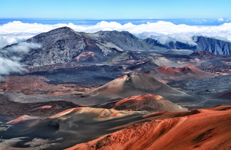 Caldera of the Haleakala volcano