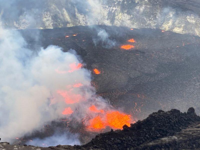 Halemaumau September 29 2021 summit eruption (Hawaii)