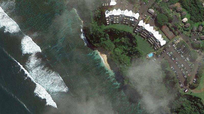 Hideaways beach on Kauai