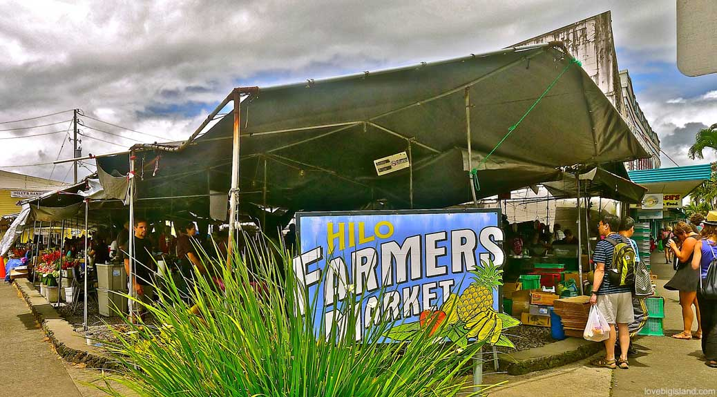 Farmers Markets on the Big Island