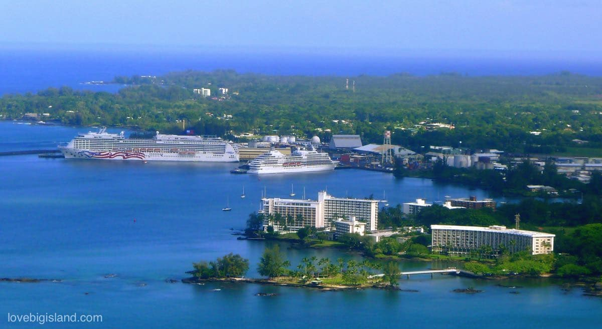 Big Island itinerary for Cruise Ship Visitors