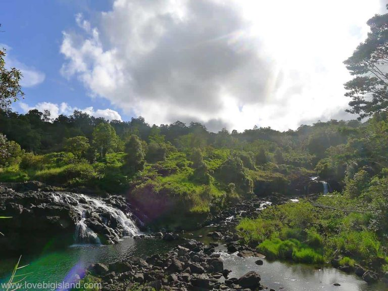 Waterfalls close to Hilo