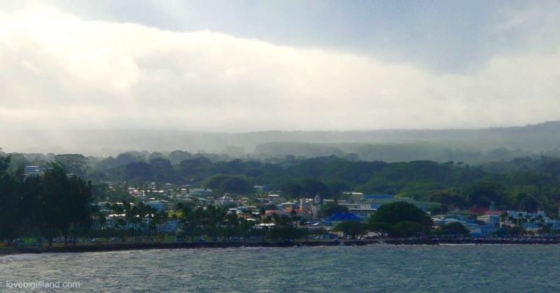 Hilo bayfront, big island, hilo