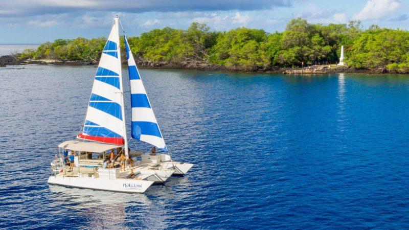 snorkeling, captain cook monument, trimaran, big island