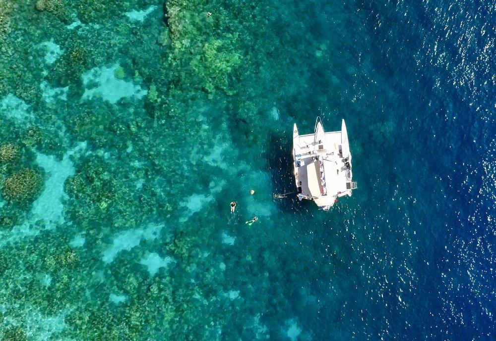 Morning Sail & Snorkel Tour to Kealakekua Bay & Red Hill