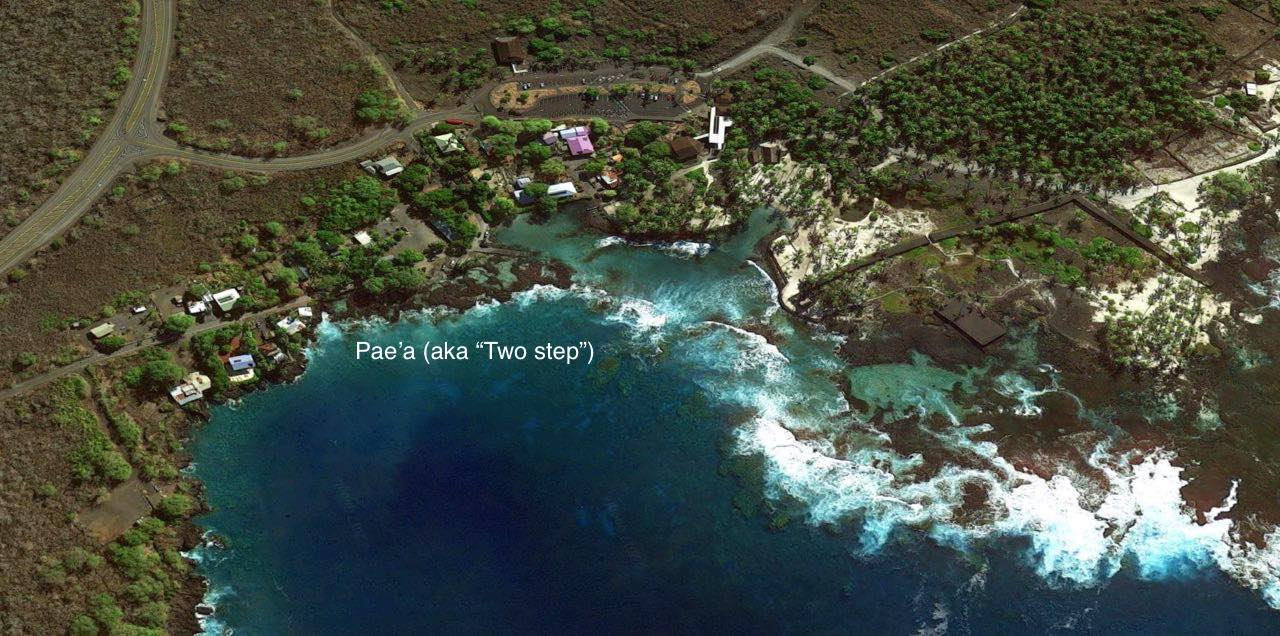 Hawaii's top snorkeling spots! 🐠 Big Island 🐡 Hawaii on mauna kea trail map, glenwood trail map, hawaii volcanoes national park trail map,
