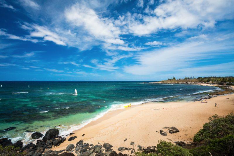 Hoʻokipa beach