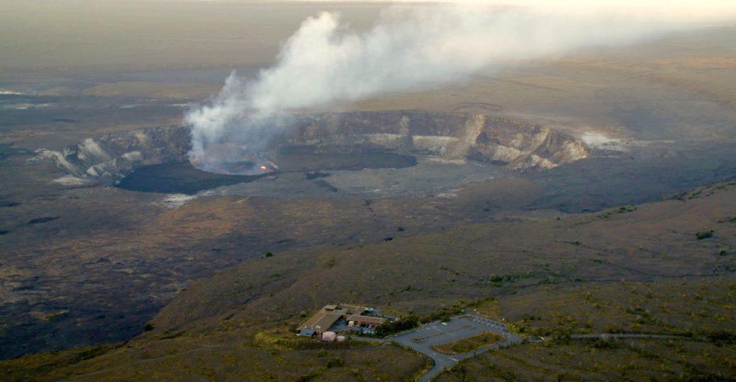 jaggar museum halema'uma'u overlook volcano hawaii