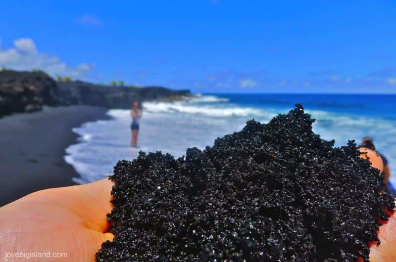 Kalapana New Black Sand Beach