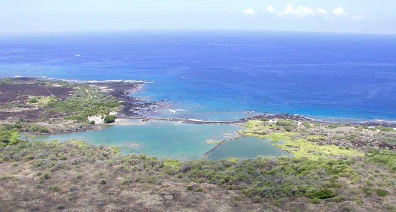 Kaloko Fishpond in the Kaloko-Honokōhau National Historical Park, hawaii, national park