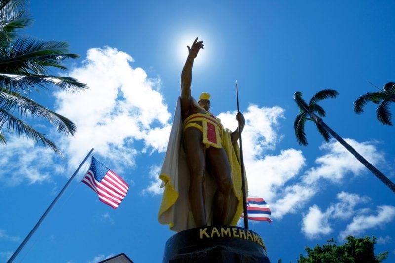 Kamehamea statue big island