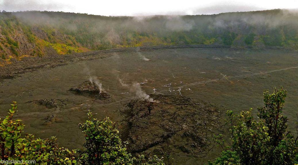 Kilauea'iki crater