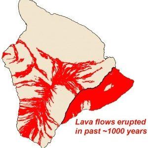 kilauea, lava cover, hawaii