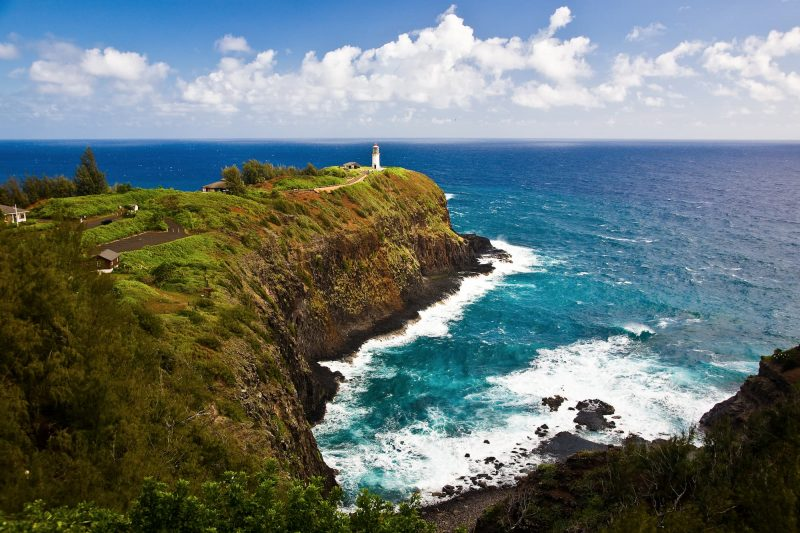 The Kilauea Lighthouse on Kauaʻi