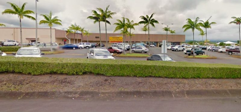 parking lot in hilo