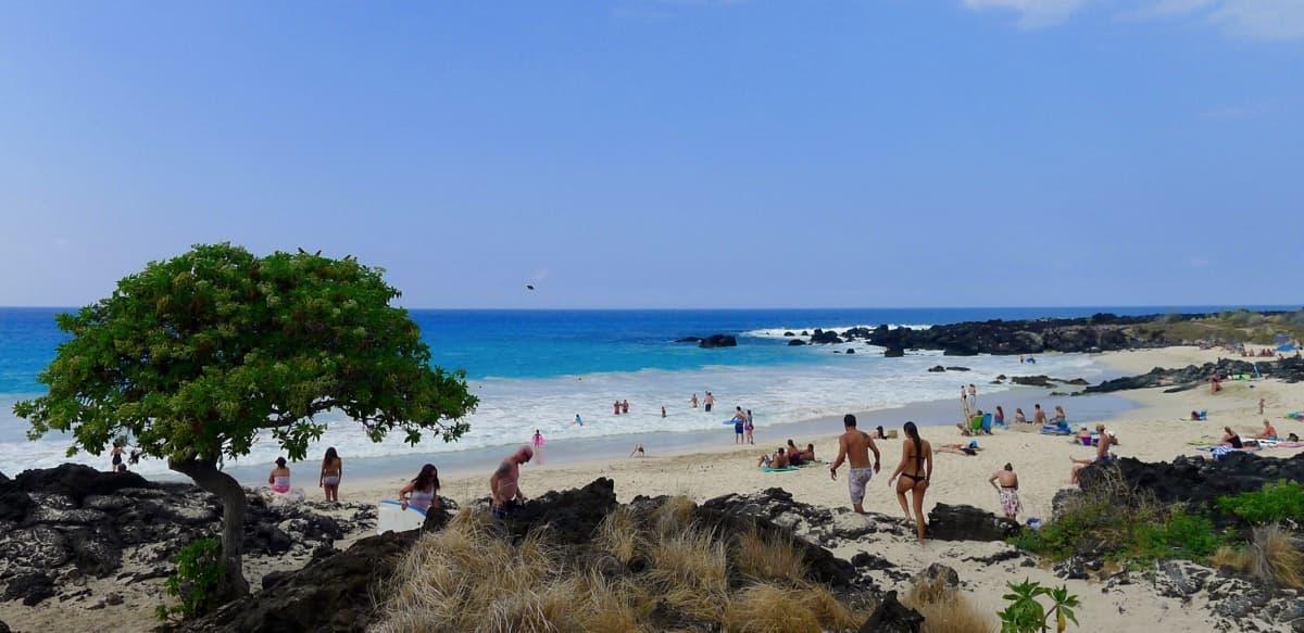 Beaches on the Big Island