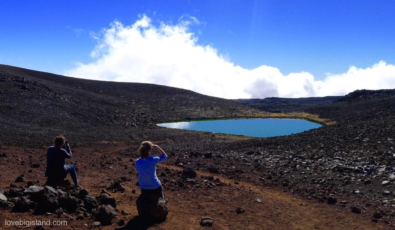 Lake Waiau on MaunaKea