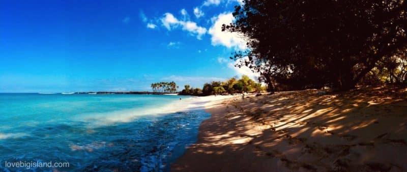 Mahai Ula Beach Kekaha Kai Park Island Hawaii
