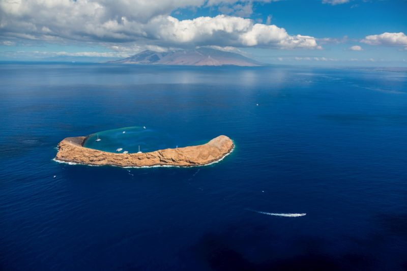 Molokini and Kaho'olawe