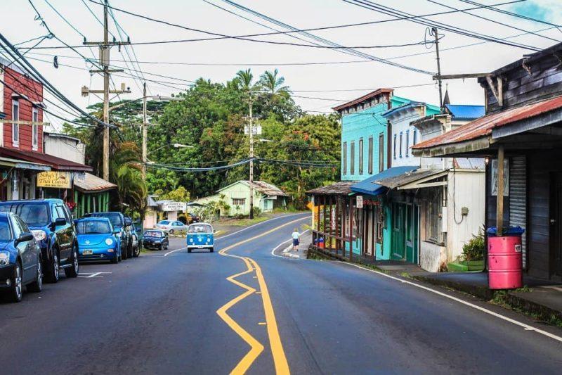 Downtown Pahoa